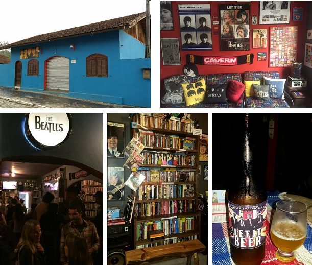 Pub, beatlemania, Casa dos Beatles, Visconde de Mauá