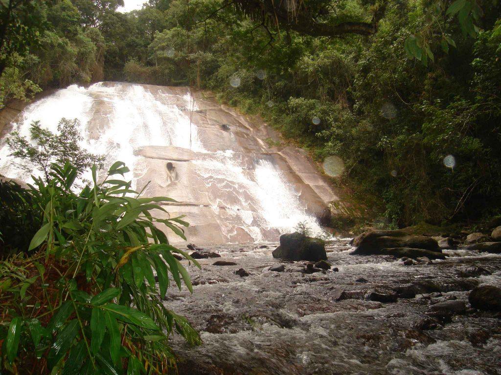 Cachoeira da Santa Clara, Vale da Santa Clara